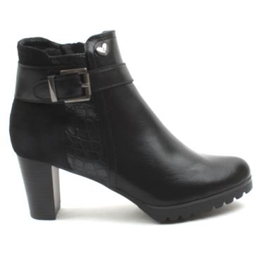 SUSST RUBEN0 ANKLE BOOT - Black