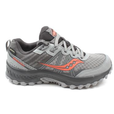 SAUCONY S10588 EXCURSION LACED GTX SHOE - GREY CORAL