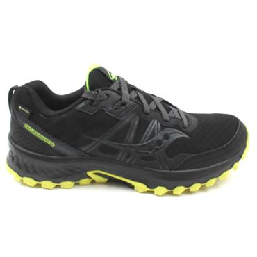 SAUCONY S20588 EXCURSION GTX SHOE - BLACK/YELLOW