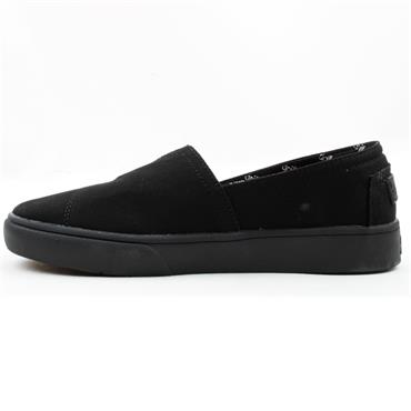DRILLEYS SEABRIGHT CANVAS SHOE - Black