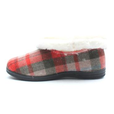 KYLEBAY SHEILA SLIPPER - RED MULTI