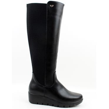 SUSST SHERRY21 KNEE HIGH BOOT - Black