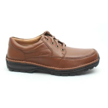 CLARKS MENS SHOE SIDMOUTHMILE - BROWN
