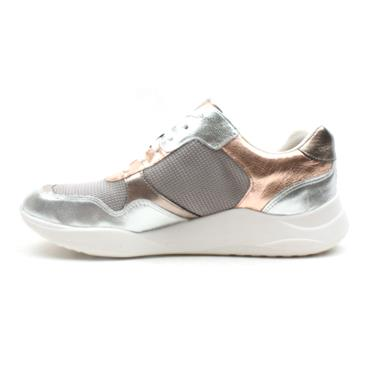 CLARKS SIFT LACE RUNNER - ROSE