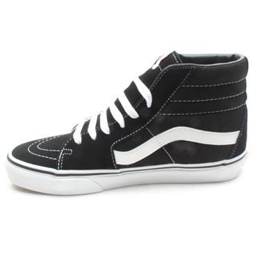 VANS SK8-HI BOOT - BLACK/WHITE