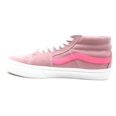 VANS SK8 MID LACED LOW BOOT - PINK
