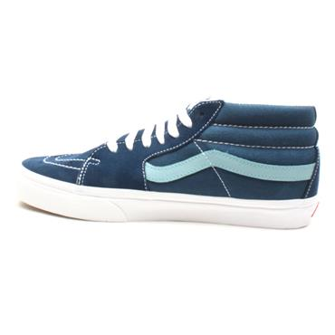 VANS SK8 MID LACED LOW BOOT - TEAL