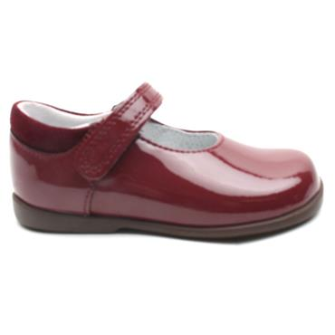 STARTRITE SLIDE VELCRO SHOE - RED G