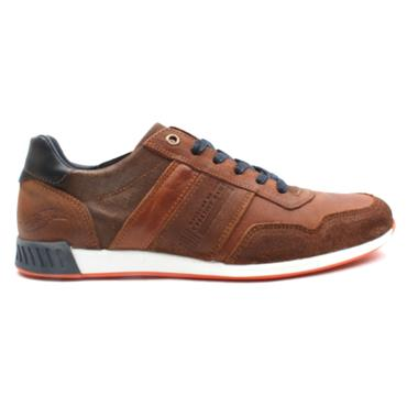 LLOYD AND PRYCE SMITH LACED SHOE - CAMEL