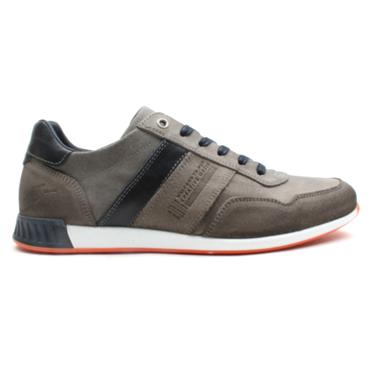 LLOYD AND PRYCE SMITH LACED SHOE - GREY