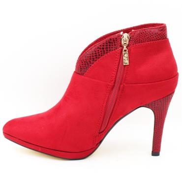 KATE APPLEBY SOUTHROP SHOE BOOT - RED