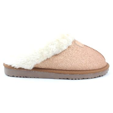 ELLA SPARKLE SLIPPER - ROSE GOLD