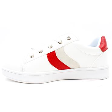 DRILLEYS SPLIT SHOE - RED WHITE