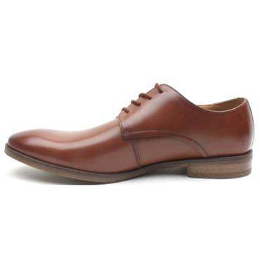 CLARKS STANFORD WALK LACED SHOE - TAN G