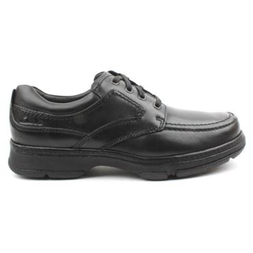 CLARKS MENS SHOE STAR STRIDE - Black