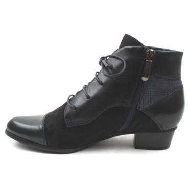 REGARDE LE CIEL STEFANY 123 ANKLE BOOT - NAVY