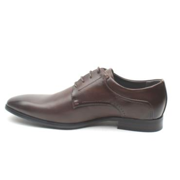 MARCOZZI STOCKHOLM LACED SHOE - DARK BROWN
