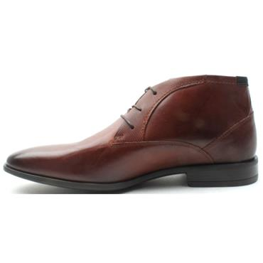 POPE TAUPO  LACED BOOT - DARK BROWN