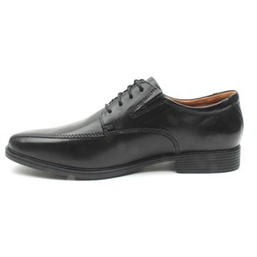 CLARKS TILDEN WALK MENS SHOE - BLACK H