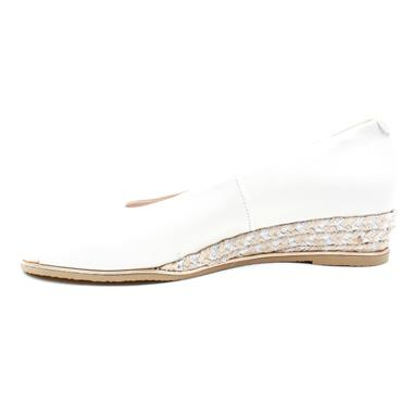 KATE APPLEBY TINTERN WEDGE SANDAL - ICE WHITE