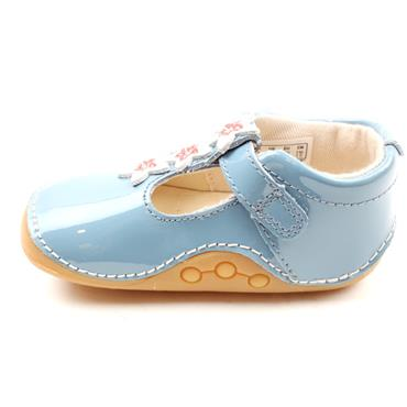 CLARKS TINY FLOWER T PREWALKER - BLUE F