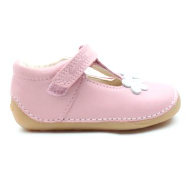 CLARKS TINY SUN T TODDLER SHOE - PINK F