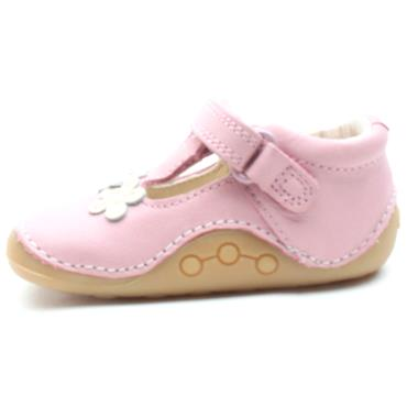 CLARKS TINY SUN T TODDLER SHOE - PINK G