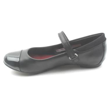 CLARKS TIZZ TALK STRAP SHOE - BLACK G