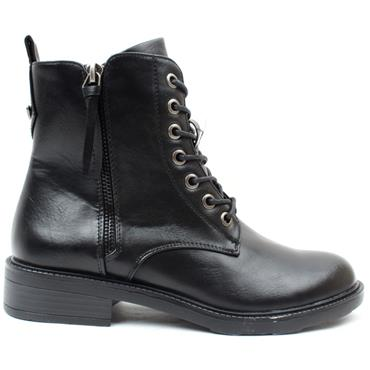 SUSST TOBY 21 LACED BOOT - Black
