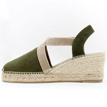 TONI PONS CLOSED TOE TONA - KHAKI