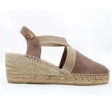 TONI PONS CLOSED TOE TONA - TAUPE