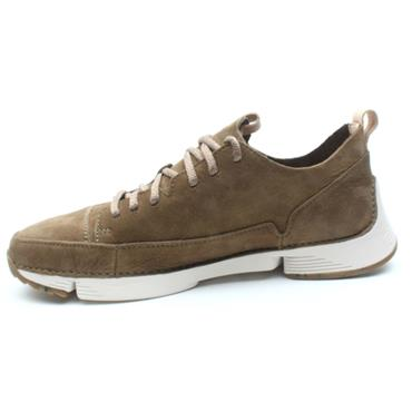 CLARKS TRI SPARK CASUAL SHOE - GREEN G