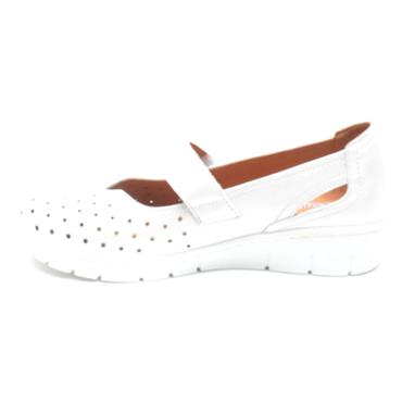 SOFTMODE TRUDY VELCRO SHOE - WHITE