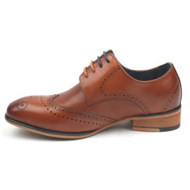 L & P BOYS SHOE TWICKENHAMJUNIOR - WHISKEY