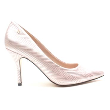 UNA HEALY TWO ANGELS COURT SHOE - PINK