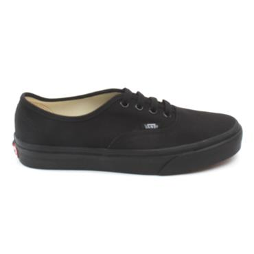 VANS UAUTHENTIC LACED SHOE - BLACK/BLACK