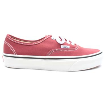 VANS UAUTHENTIC LACED SHOE - WINE