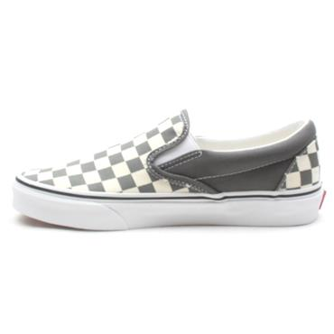 VANS U CLASSIC SLIP ON CANVAS SHOE - PEWTER