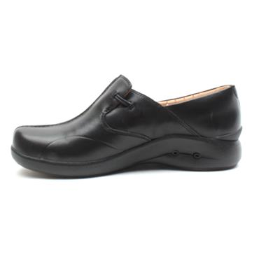 CLARKS UNLOOP2WALK SHOE - BLACK D