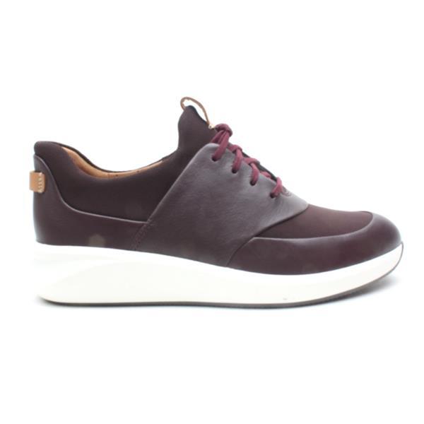 online sale luxury aesthetic fashion design Clarks Un Rio Lace Shoe - Aubergine D