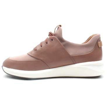 CLARKS UN RIO LACE SHOE - BLUSH D