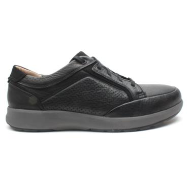 CLARKS UN TRAIL FORM SHOE - BLACK G