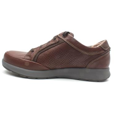 CLARKS UN TRAIL FORM SHOE - MAHOGANY