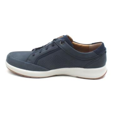 CLARKS UN TRAIL FORM SHOE - NAVY G