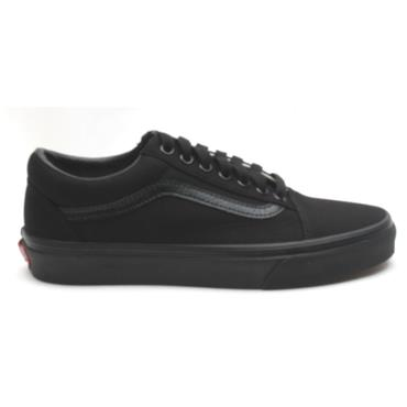VANS UOLD SKOOL LACED SHOE - BLACK/BLACK