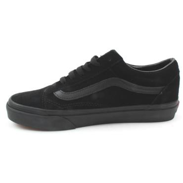 VANS UOLD SKOOL LACED SHOE - BLACK SUEDE
