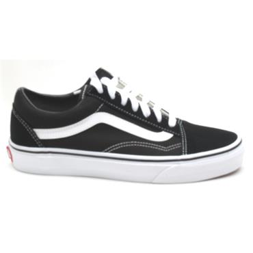 VANS UOLD SKOOL LACED SHOE - BLACK/WHITE