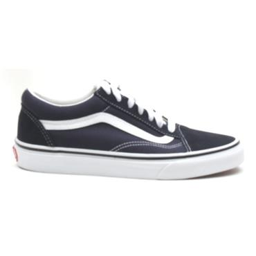 VANS UOLD SKOOL LACED SHOE - NAVY/WHITE