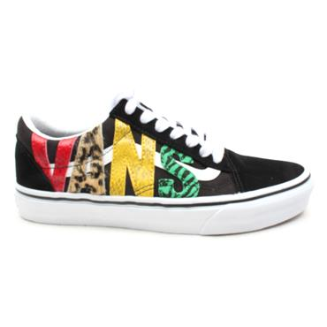 VANS UOLD SKOOL LACED SHOE - RASTA