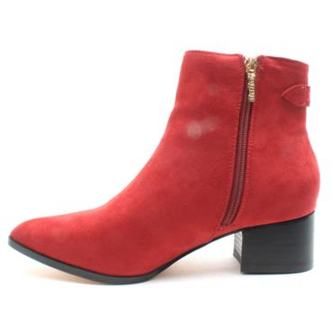 UNA HEALY USEYOURHEART BOOT - RED